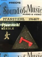 """NEW In Package Pfanstiehl 370-DS77 Diamond Needle Stylus """"Dual Needle"""" 370DS77"""