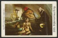 Princess Leia Jabba The Hutt - 1983 Swedish Stjärnornas Krig Star Wars Set Card