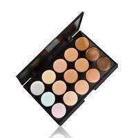 15 Colors Concealer Color Facial Face Cream Highliter Make up Base Pallete Nude
