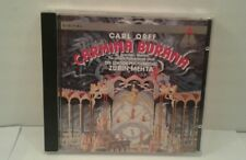 Carl Orff: Carmina Burana - The London Philharmonic/Zubin Mehta (CD, 1993) GER