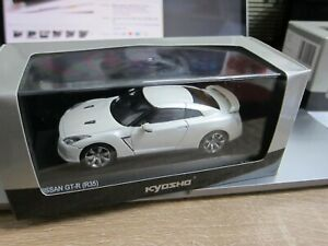 Kyosho - Scale 1/43 - NISSAN GT-R - 2008 R35 - white Pearl - Mini Car - D8