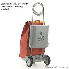 GIMI Freezer Cooler Bag Accessory for Grocery Trolley, Shopping Cart, Caddie