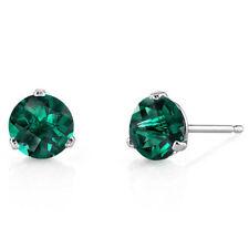 76d62bfd0 Emerald White Gold Fine Earrings for sale | eBay