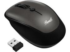 Rosewill Wireless Optical Computer Mouse, Compact, Travel Friendly, Office Style