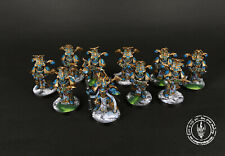 Chaos Thousand Sons Rubric Marines Painted Commission Warhammer 40k