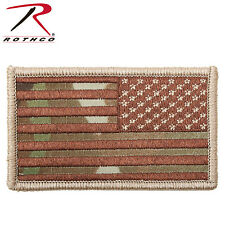 USA FLAG PATCHES 3 3/8X1 7/8 Hook & Loop Your Choice of 17 flag patches