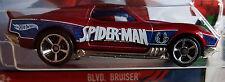 Hot Wheels 2016 HW Spider-Man Blvd Bruiser Red Ultimate Spiderman 1:64 DJJ72