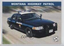 2000 Publication Services Troopers Across America #26 Montana Highway Patrol 0w6