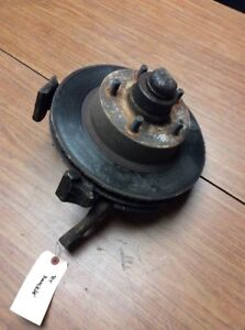 1977 1978 1979 LINCOLN MARK V 5 RIGHT FRONT KNUCKLE / SPINDLE WITH BRAKE ROTOR