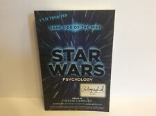 Star Wars Psychology Book Signed/Autographed Dark Side of The Mind Unauthorized