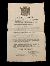 NAPOLEON DECREE 1807