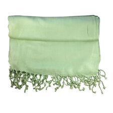 Écharpes et châles pashminas vert pour femme