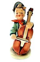 "Goebel HUMMEL Figurine ""Sweet Music"" #186 Boy Playing the Bass TMK 2 Full Bee"