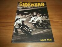 Sideburn Magazine 2nd Issue No 2 2008 Motorcycle Dirt Track Racing Quake Bikes