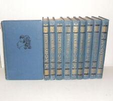 ALEKSANDR PUSHKIN 10 Volumes of Works Russian Books Literature Moscow 1981 Year