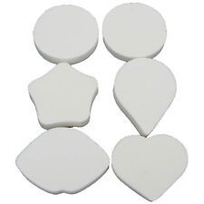Makeup Applicator Sponges Body Collection Blenders Shaped Tools Set of 6