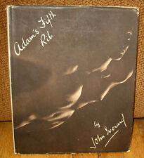 John Everard Adams Adam's Fifth Rib Photographic Studies of the Nude 1937 HC DJ