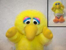 """big bird softies in diaper 1980 nice clean 10"""" cute seasame street muppets"""