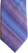 "Van Heusen Men's Silk Tie 60"" X 3.75"" Multi-Color American Stripe"