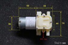 545 DC12V Water Pump Diaphragm Self-priming Pump Motor 1.2L/Min for DIY Tea Set