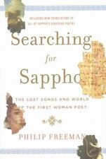 Searching for Sappho: The Lost Songs and World of the First Woman Poet-ExLibrary