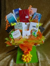 Bright Colours Box Set Perfume Flower Bouquet Samples Ribbon Bow Birthday Gift