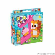 NEW The Orb Factory Pixel Pops - Kitten Cupcake Party