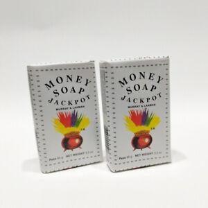Money Soap 3.3 oz Jackpot Good Luck Jabon del Dinero Buena Suerte Murray 2 Bars