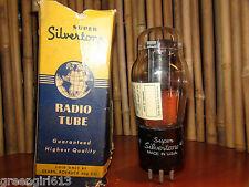 Vintage Super Silvertone #43 Stereo Tube  Results =