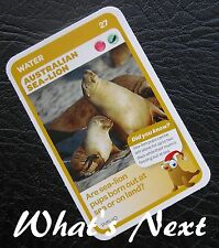 Woolworths<AUSSIE ANIMALS><Series 2 Baby Wildlife>CARD 27/36 Australian Sea-Lion