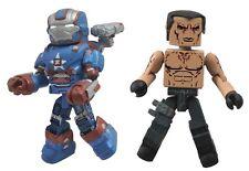 Marvel Minimates Series 49 Iron Man 3 Iron Patriot with Extremis Soldier