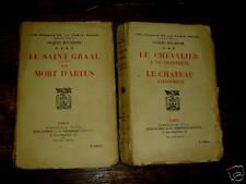 les romans de la table ronde / boulenger /2 volumes