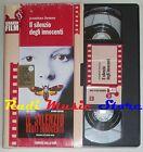 film VHS IL SILENZIO DEGLI INNOCENTI CARTONATA CORRIERE DELLA SERA (F12) no dvd