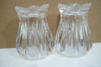 Clear Art Glass Crystal Salt & Pepper Shaker