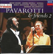 Pavarotti & Friends 2 (DECCA CD-Album, 1995) 15 Titel - Topzustand, Hülle neu!