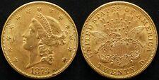 20 Dollars GOLD USA 1873 Liberty Head Double Eagle