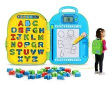 Leapfrog Go with Me Backpack Mr. Pencil Learning Toy Phonics Preschool Green