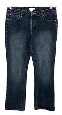 Cato Jeans Bootcut Curvy Leg Dark Wash Stretch Womens Size 10 Actual 30 x 30