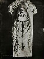 1929/75 Vintage MAN RAY Surreal LONG HAIR Female Woman Portrait Photo Art 12x16
