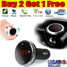 Wireless Bluetooth FM Transmitter Modulator Car Kit MP3 Player SD w/ Remote US