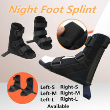 Ankle Support Brace Foot Guard Soft Fracture Recovery Night Splint Plantar