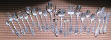 Oneida Community Grand Majesty Sterling Silver 23 Pcs. Over 2lbs.
