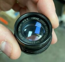 Cooke Panfo Anastigmat 50mm f/2.8 Lens Head Taylor Hobson Rare Clean FF Cover!!