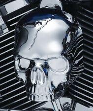 couvre klaxon ornement tete de mort  moto chopper harley skull horn cover LARGE