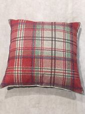 """New 18""""x18"""" cushion cover made in Next Tweedy Morcott Red Check 4f2344336c4"""
