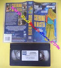 VHS film CATERINA VA IN CITTA' 2004 Paolo Virzi'Sergio Castellitto (F108) no dvd