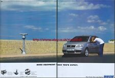 """Fiat Punto """"More Equipment Than You'd Expect"""" 2003, 2 Page Magazine Advert #1296"""
