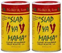 Slap Ya Mama Cajun Seasoning 2 Bottle Pack