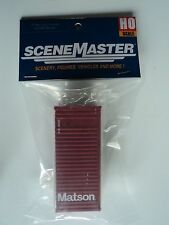 CONTAINER  CONTAINER  CONTAINER   HO  MATSON   20 FT      NEW PACKAGING