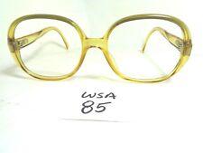 Vtg 1970s CHRISTIAN DIOR Sunglasses Frame 2076-20 Round Honey Germany  (WSA-85)
